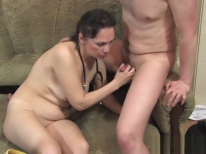 Called a mature nurse at home and fucked