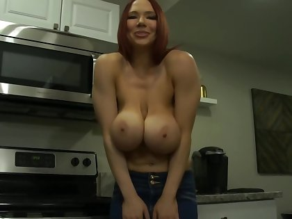Helping Step Mommy in the Kitchen Taboo Roleplay