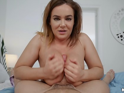 Oiled anal dealings in reverse cowgirl style beside tasty Natasha Nice