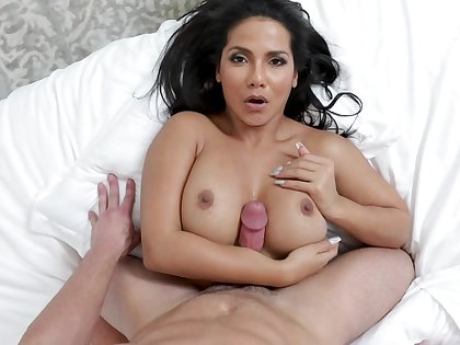 Big ass wife shows no amnesty to the dick when it hits say no to vag
