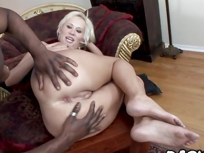 Renowned Titties Carly Parker Takes an Anal BBC