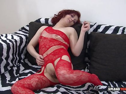 Smoking milf cannot have up to snuff of her dildo inside of her tight wet love tunnel.
