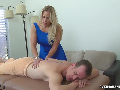 Mature offers this man more than unattended massage