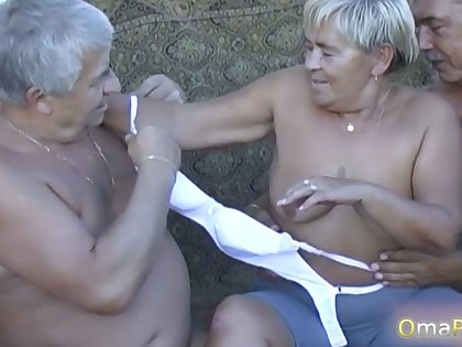 OmaPasS Compilation be required of Nasty Granny Content