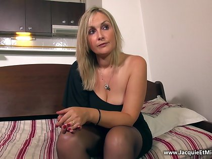 Horny sex clip MILF craziest only for you