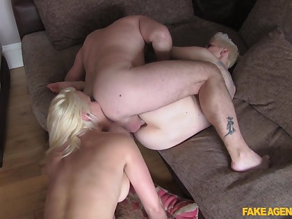 Naked battalion lasting fucked by the same lover in impossible threesome